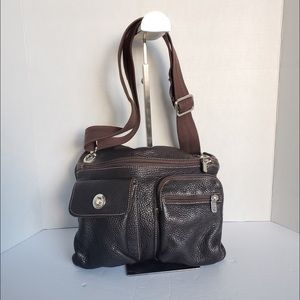 Roots crossbody messengers bag